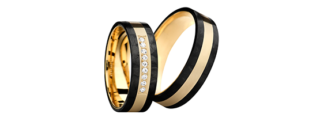 Obrączka carbonowa GC1/6 biżuteria klejnotkielce.pl