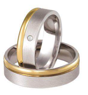 Obrączka 654/6/L/W biżuteria klejnotkielce.pl