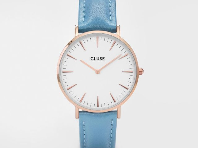 Rose Gold White Blue CL 18009