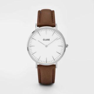 Silver White Brown biżuteria klejnotkielce.pl