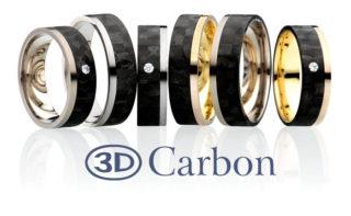 3 D Carbon Obrączka carbonowa GC1/6