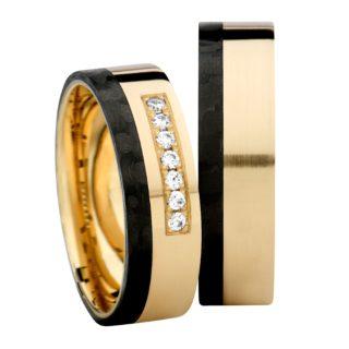 Obrączka carbonowa GC5/6 biżuteria klejnotkielce.pl