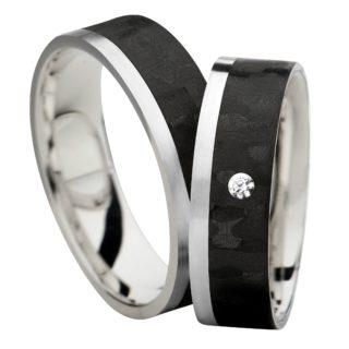 Obrączka carbonowa SRC2/6 biżuteria klejnotkielce.pl